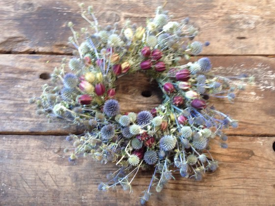 Thistle Wreath