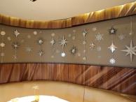 Patina Snowflake Decor
