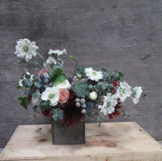 Rustic Flowers for Arist