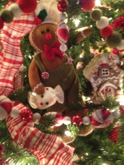 Catal Gingerbread tree close up
