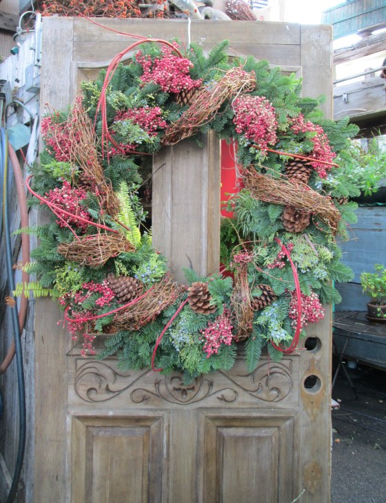 Dogwood Pepper berry Wreath