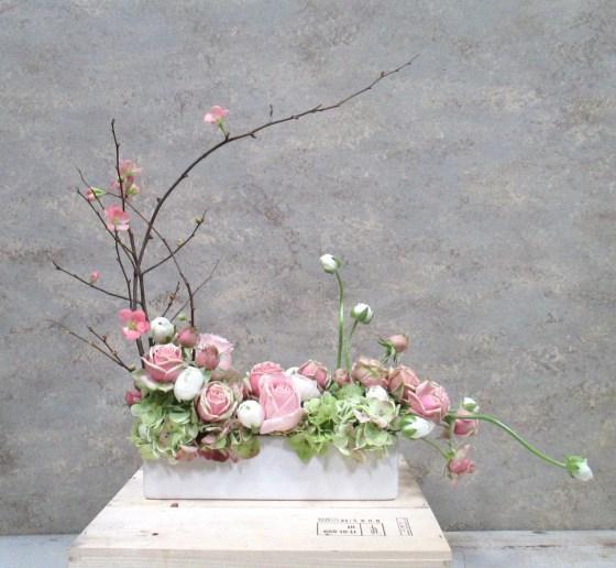 Ballet Girl Flowers